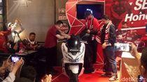 Motor-motor Honda Berkelir PSM Makassar