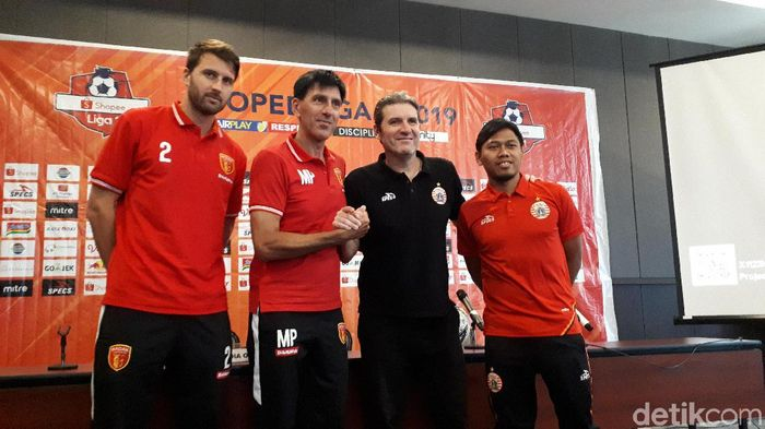 Persija Jakarta akan menghadapi Perseru Badak Lampung FC di lanjutan Liga 1 2019 (Foto: Mercy Raya/detikSport)