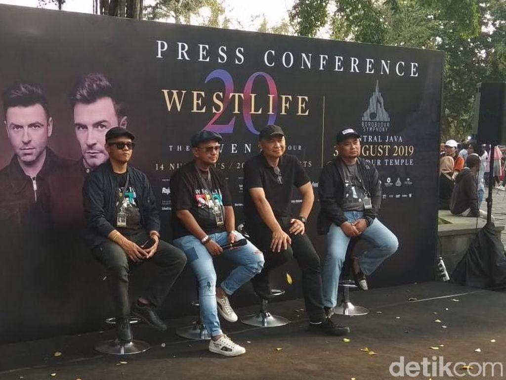 Konser Westlife di Borobudur Disebut Momentum Bersejarah