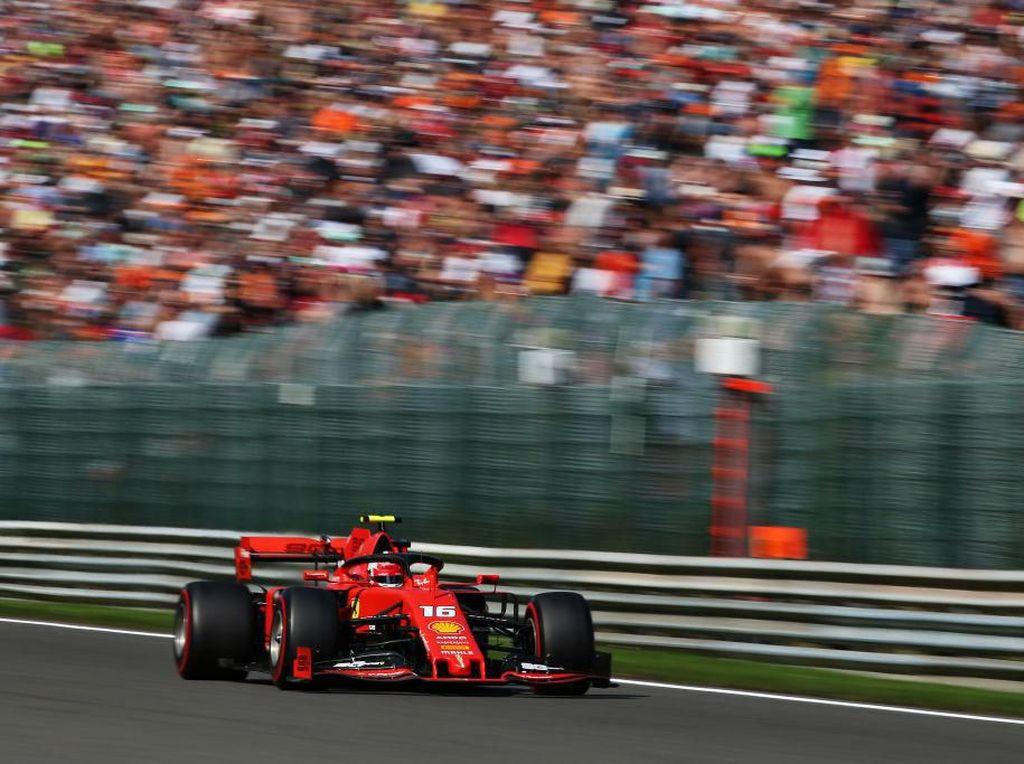 Charles Leclerc Start Terdepan di GP Belgia