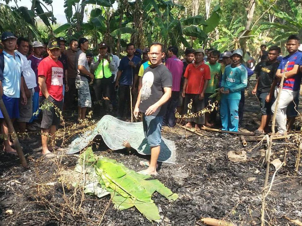 Seorang Kakek di Ponorogo Tewas Terpanggang Saat Bakar Daun Bambu