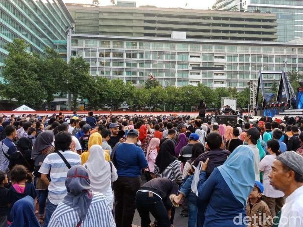 Warga Mulai Padati Area Jakarta Muharram Festival