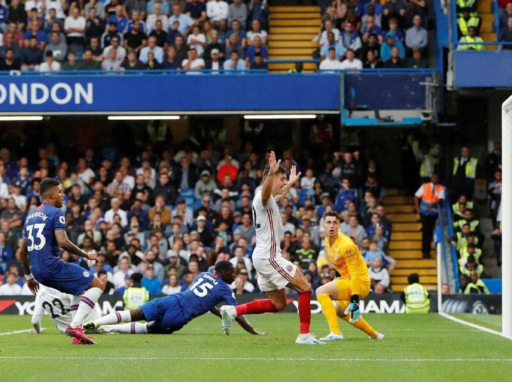 Chelsea Vs Sheffield: Buang Keunggulan Dua Gol, The Blues Berimbang 2-2