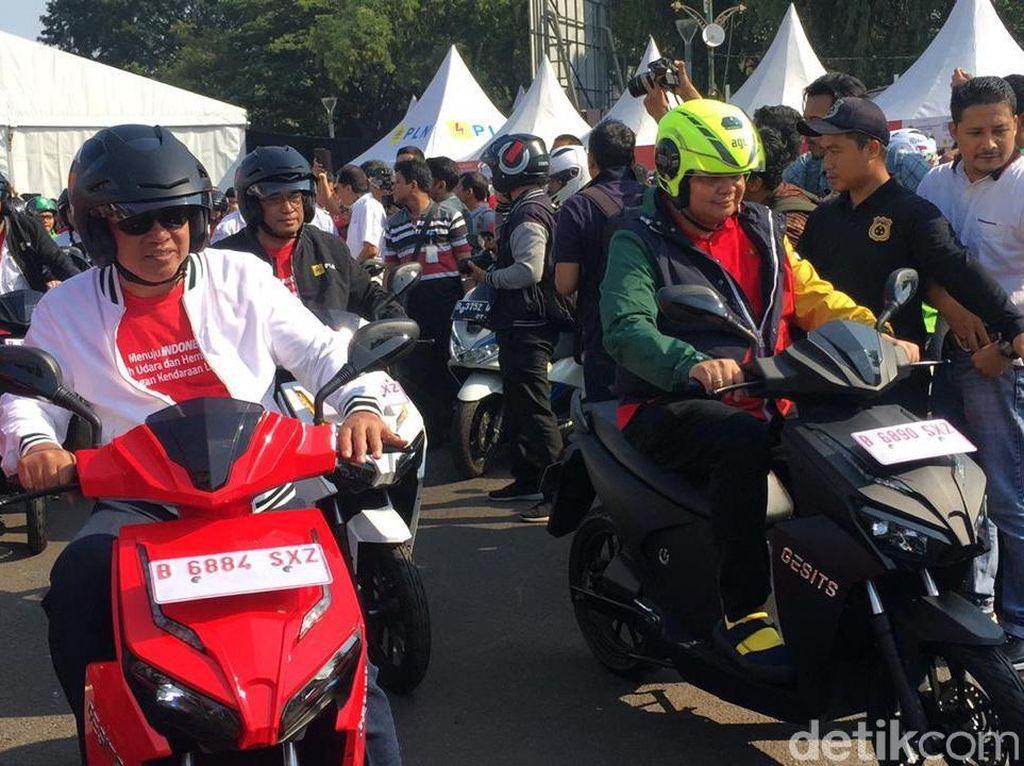 Jakarta Utara Paling Banyak Pakai Motor Listrik