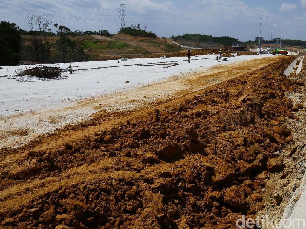 Melihat Progres Pembangunan Tol Pertama di Kalimantan