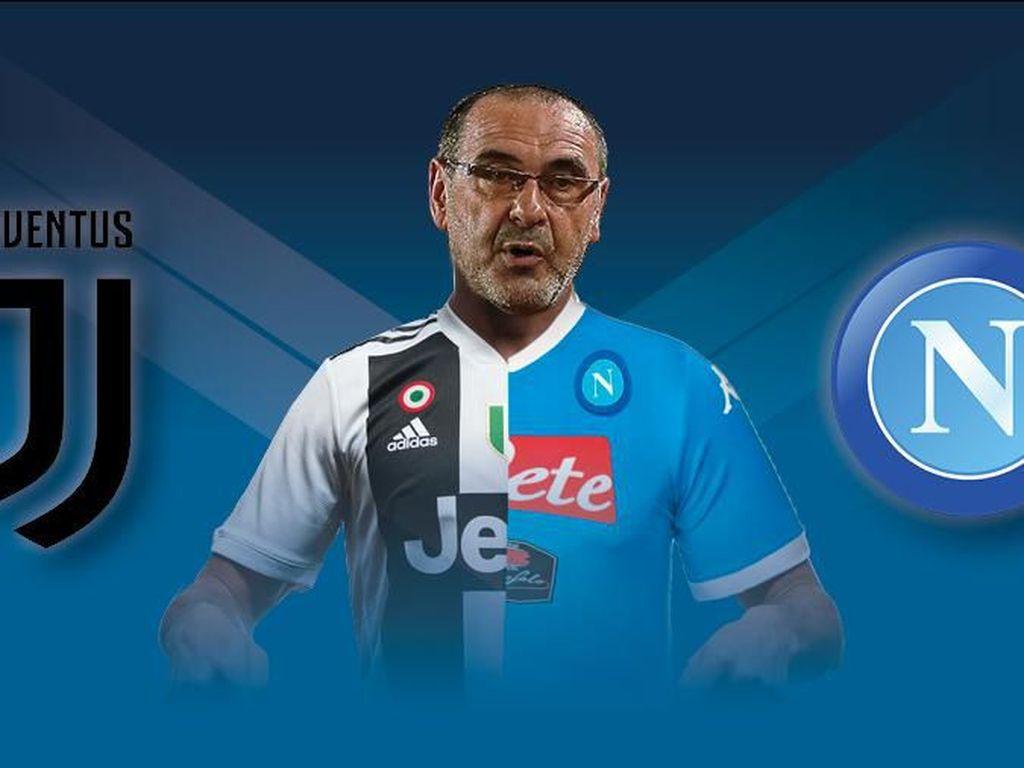 Juventus Vs Napoli: Reuni Sarri yang Tertunda