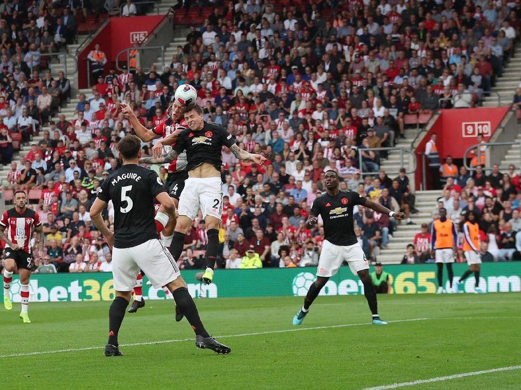 Southampton Vs MU Tuntas 1-1