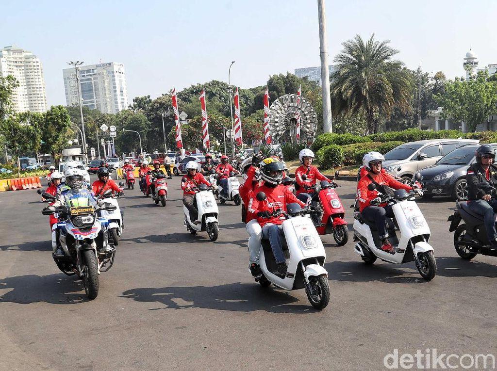 Motor Listrik Laku Keras, Paling Banyak di Papua