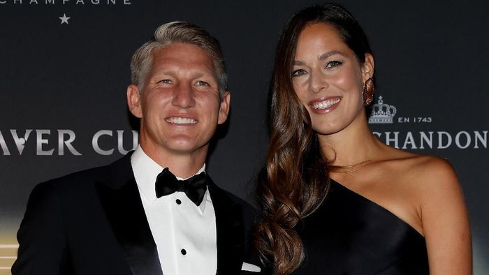 Bastian Schweinsteiger dan Ana Ivanovic dikaruniai putra kedua (Foto: Matthew Stockman/Getty Images for The Laver Cup)