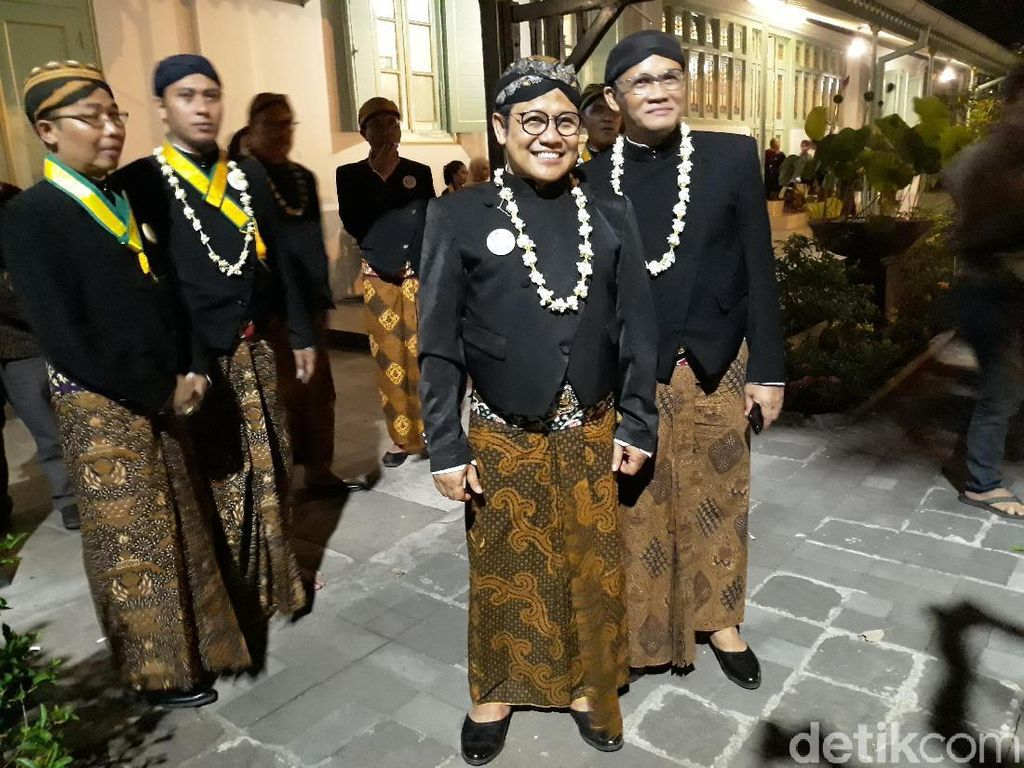 Ikut Kirab 1 Sura di Solo, Cak Imin Selipkan Doa Jadi Ketua MPR