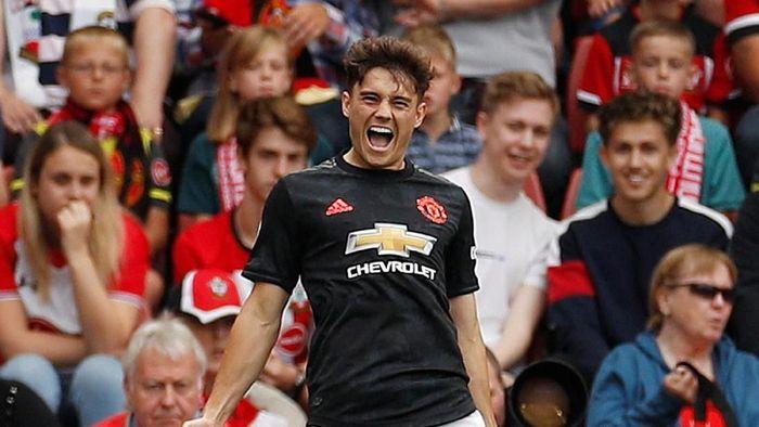Daniel James tampil menjanjikan bareng MU sejauh ini, mencetak tiga gol dari delapan pertandingan Liga Inggris. (Foto: Action Images via Reuters/John Sibley)