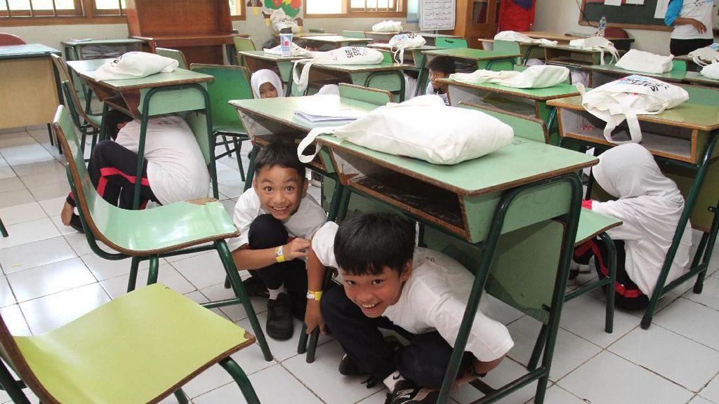 Serunya Edukasi Kesiapan Bencana untuk Siswa SD