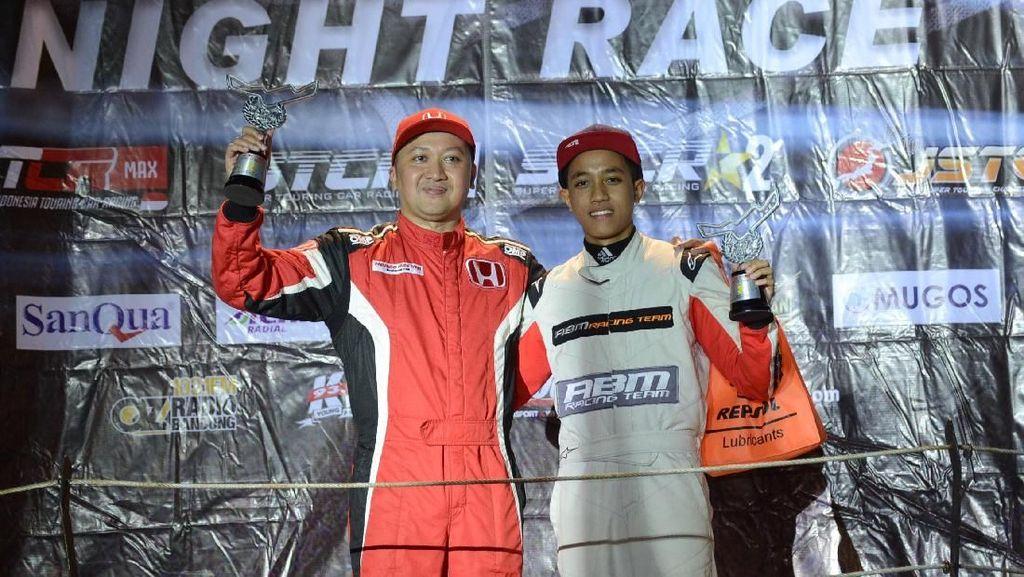 Alvin Bahar Pertahankan Gelar Juara ISSOM Night Race