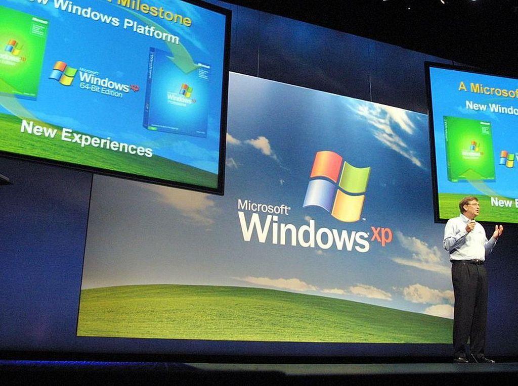 Nostalgia Kelahiran Windows XP, Sistem Operasi yang Enggan Mati