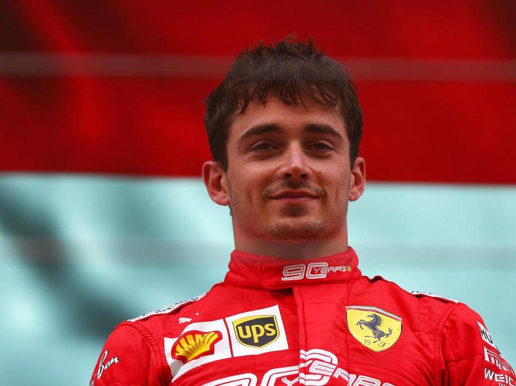 Hasil F1 GP Belgia: Charles Leclerc Juara untuk Pertama Kalinya