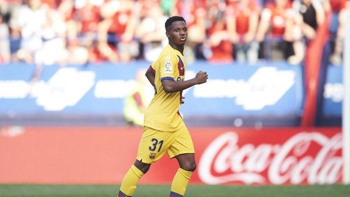 Spanyol tak menutup kemungkinan membawa Ansu Fati ke Piala Eropa 2020 (Foto: Juan Manuel Serrano Arce/Getty Images)