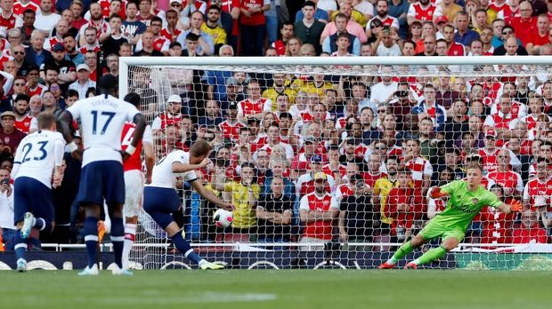 Sengit, Arsenal Vs Tottenham Berakhir Imbang 2-2
