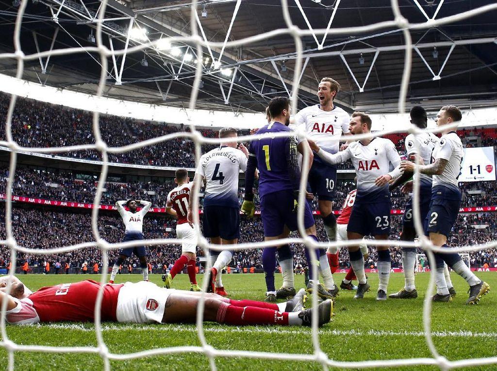 Arsenal Vs Tottenham: Pertajam Rekormu, Kane?
