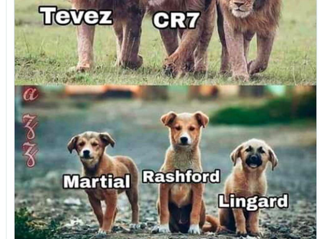 Deretan Meme Sindir Manchester United Melempem