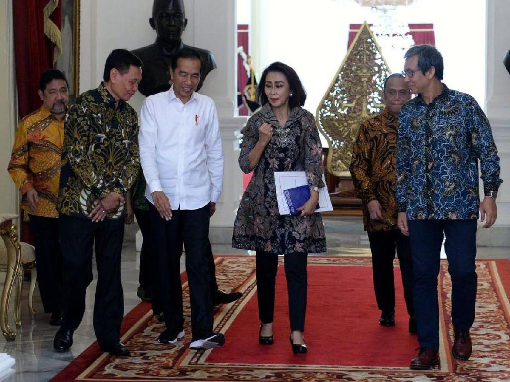Jokowi Diminta Bertemu KPK Minta Masukan 10 Capim yang Disetor Pansel