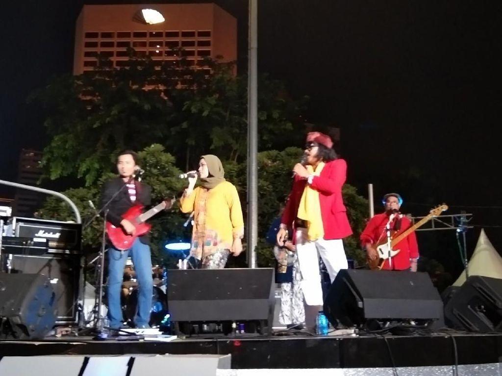Konser Lagu Nostalgia yang Berkesan di Jakarta Muharram Festival