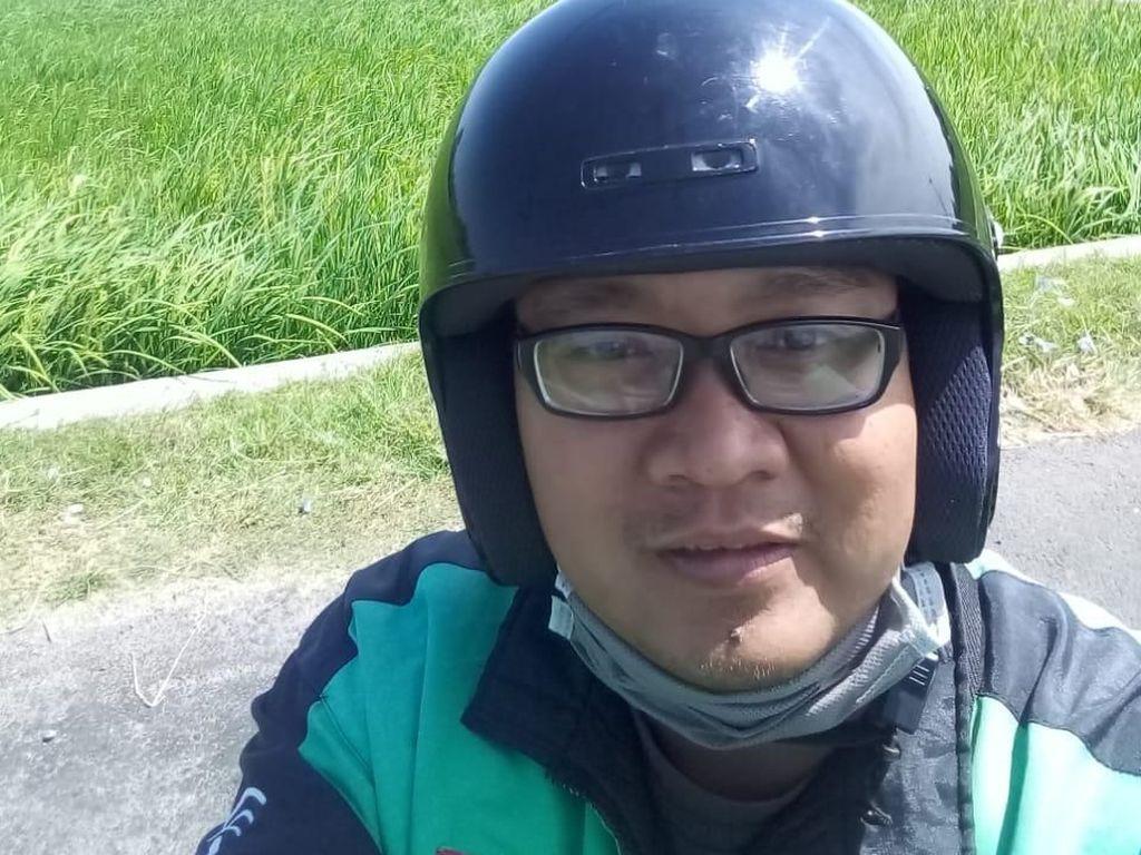 Tak Cuma Romantis, Driver Ojol Edwin Juga Sempat Viral Selalu Bawa Kotak P3K