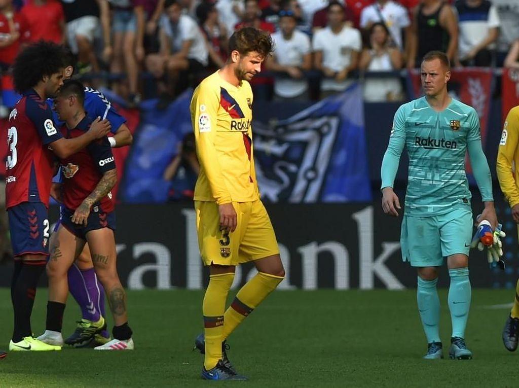 Cuma Hasilkan 4 Poin, Barcelona Ulangi Start Terburuk