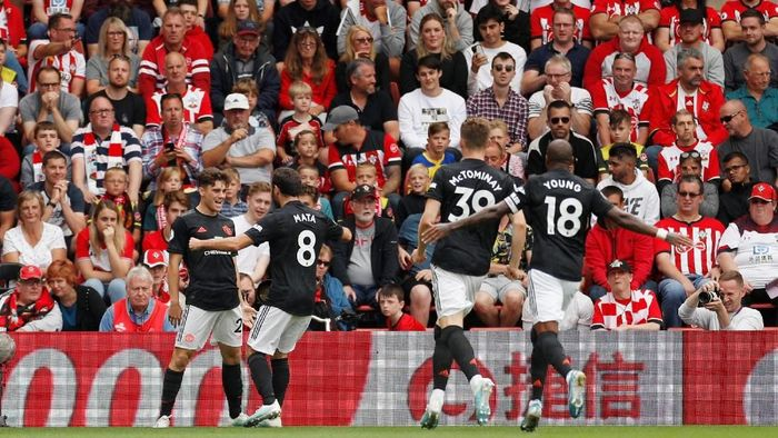 Manchester United masih berjarak beberapa tahun dari persaingan gelar. (Foto: Reuters)