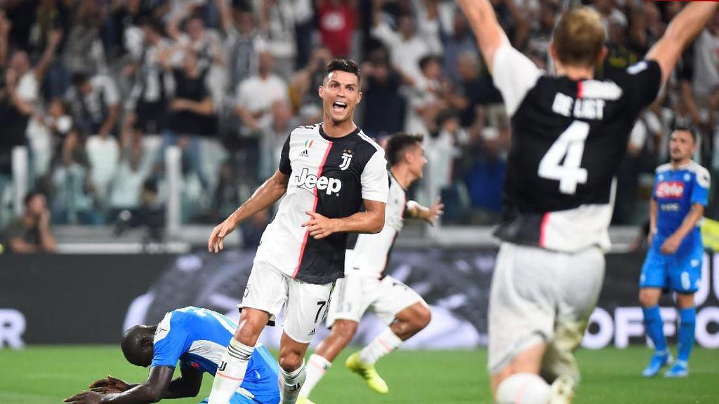 Momen Kemenangan Dramatis Juventus