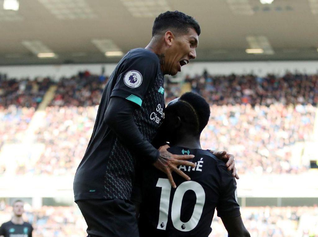 Liverpool Ungguli Burnley 2-0 di Babak Pertama