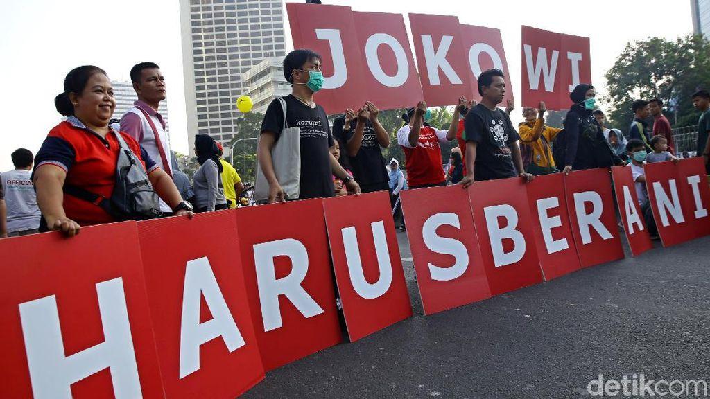 Aksi Dukungan Jokowi Harus Berani