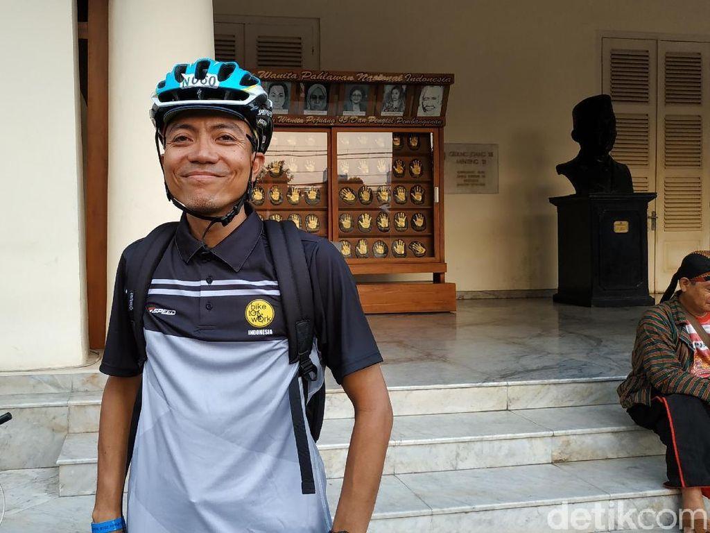 Pengalaman Vidi, Pegowes Indonesia yang Bersepeda 1.200 Km di Prancis