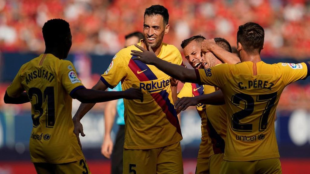Lawan Tim Promosi, Barcelona Cuma Bisa Imbang