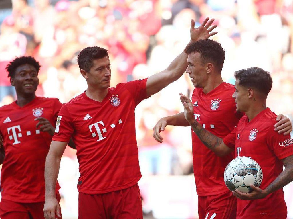 Bayern Permalukan Mainz 6-1