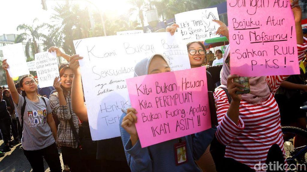 Aksi Desak Pengesahan RUU PKS