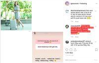 Tanya jawab Shandy Aulia dengan netizen