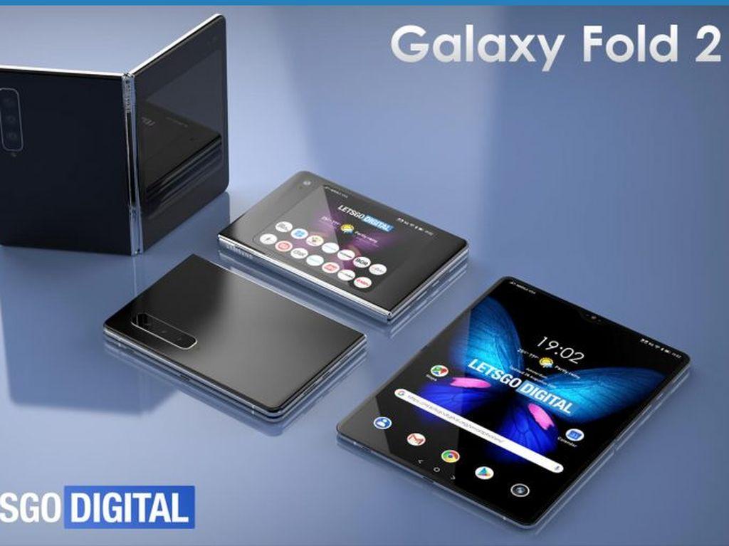 Apakah Ini Wujud Samsung Galaxy Fold 2?