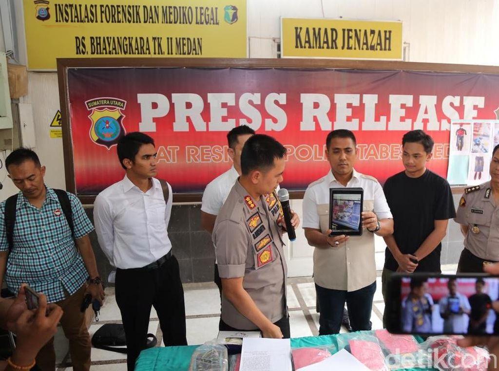 Komplotan Perampok Minimarket di Medan Ditangkap, 1 Ditembak Mati