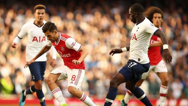 Tottenham berimbang dengan Arsenal 2-2 di Emirates Stadium. (Foto: Julian Finney/Getty Images)