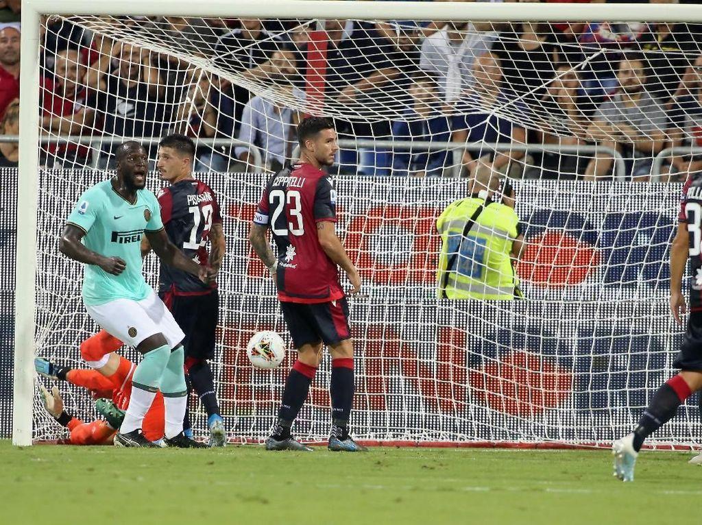Cagliari Vs Inter Milan: Lukaku Bikin Gol Lagi, Nerazzurri Kembali Menang