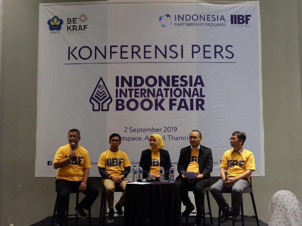 39 Penerbit Bakal Ikuti Pasar Hak Cipta Jual Beli di IIBF 2019