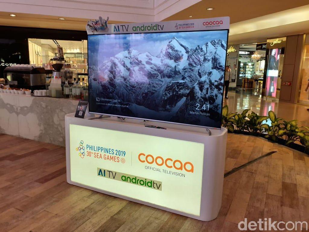 Coocaa Boyong TV UHD Anyar, Harganya Ramah Kantong