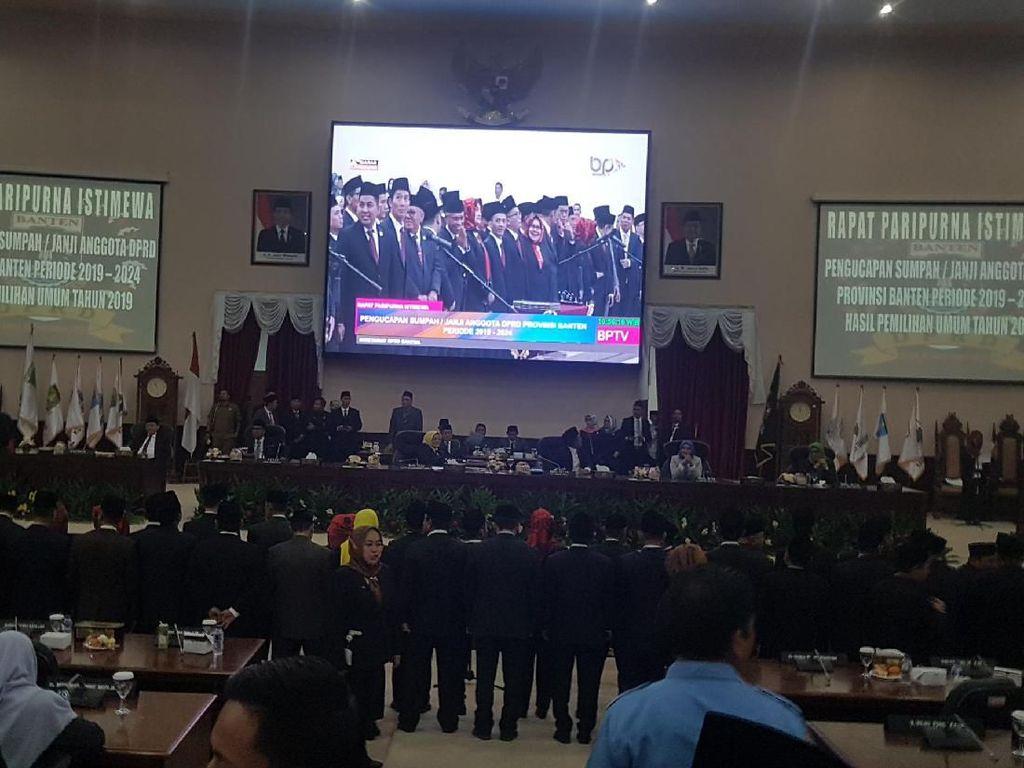 85 Anggota DPRD Banten 2019-2024 Dilantik