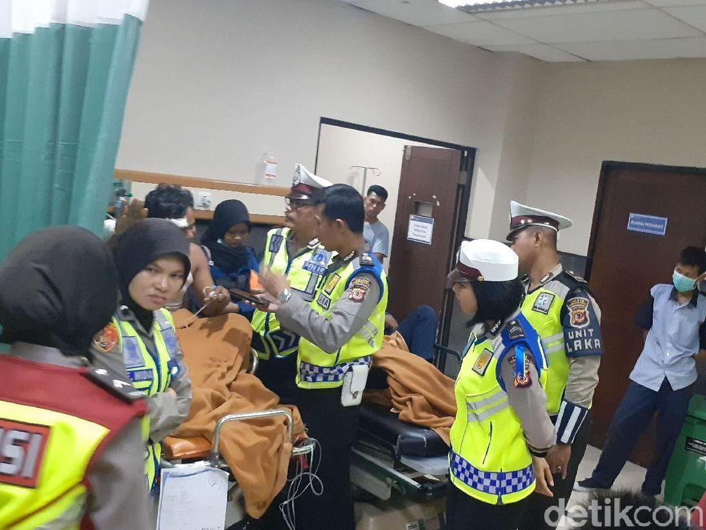 Kecelakaan di Tol Cipularang, Begini Kondisi 31 Korban di RS MH Thamrin
