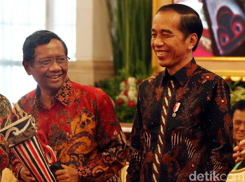 Jokowi Tak Teken UU KPK, Tanda Perppu Akan Terbit? Ini Kata Mahfud MD