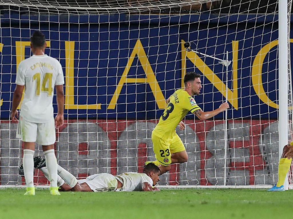 Imbang Lawan Villarreal, Zidane: Madrid Main Jelek di 15 Menit Pertama
