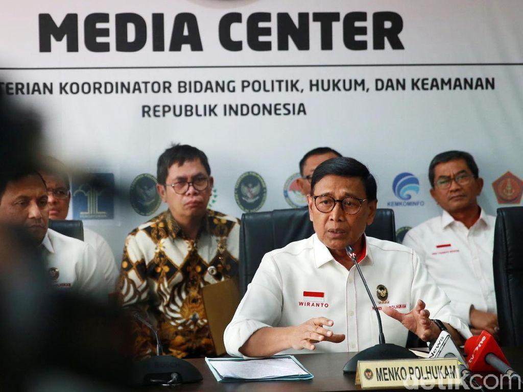 Wiranto Beberkan Konspirasi Benny Wenda dengan Aktor Lokal Papua