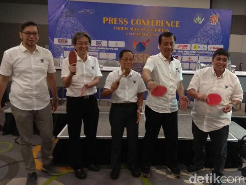 Tuan Rumah Kejuaraan Asia Tenis Meja 2019, Indonesia Turunkan 10 Atlet