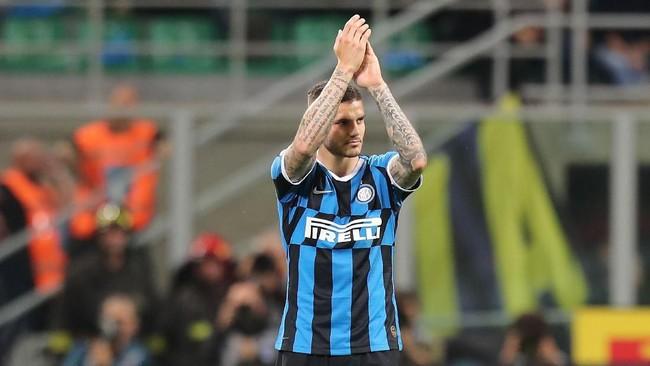 Mauro Icardi belum dapat klub baru jelang penutupan bursa transfer musim panas (Foto: Gabriele Maltinti/Getty Images)