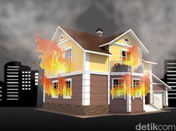 Kebakaran Rumah di Deli Serdang Sumut, Pasutri Tewas Terbakar